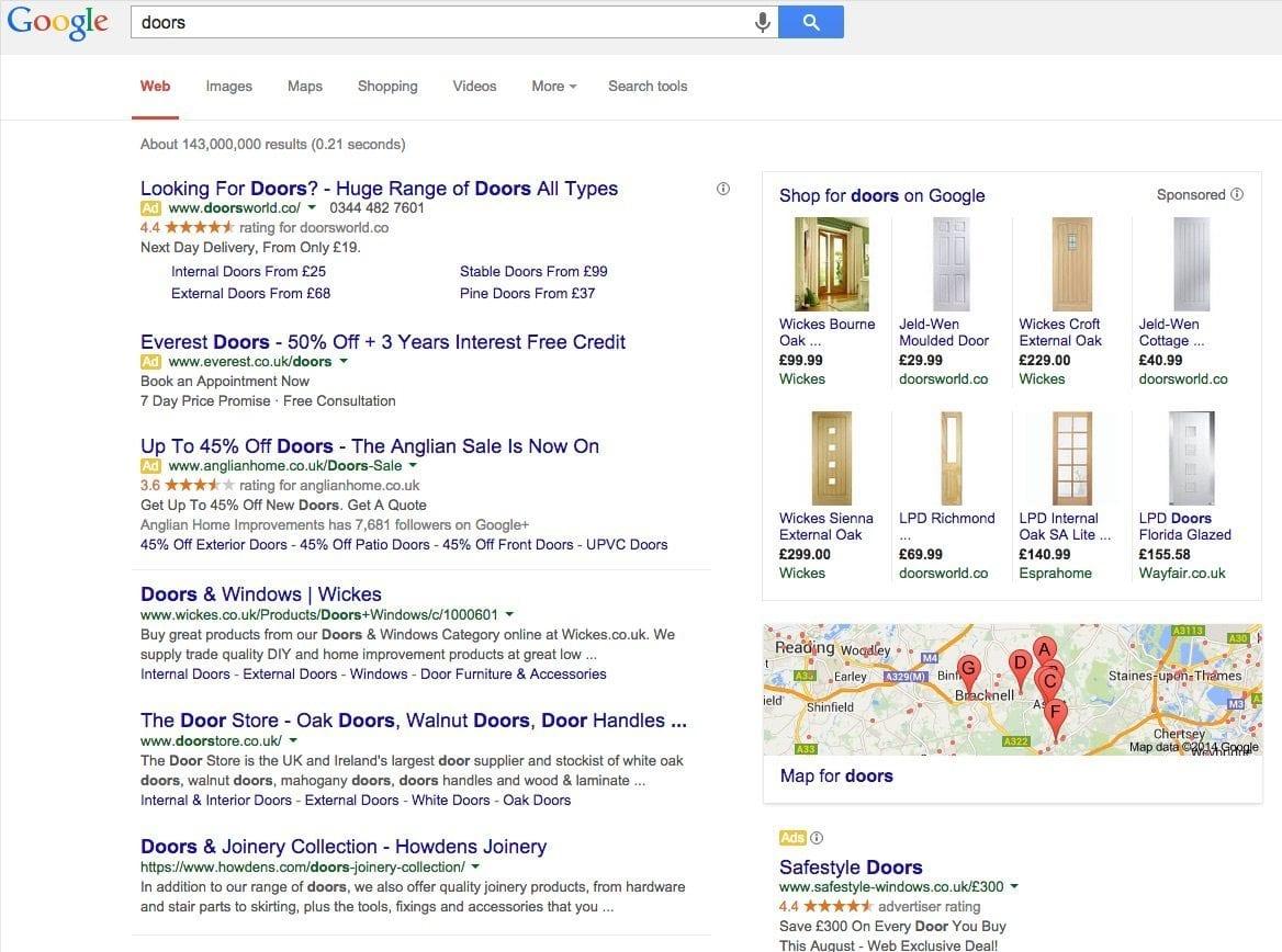 doors search term