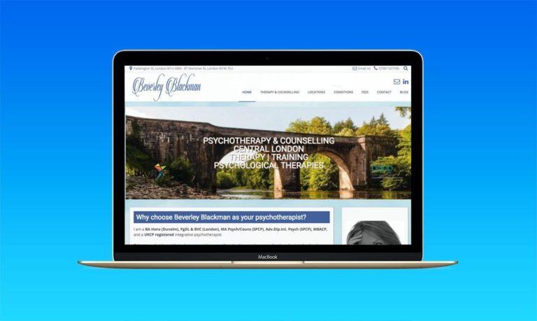 Psychotherapist Website