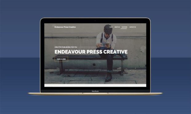 Book Publisher Website