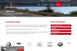Used Cars Website