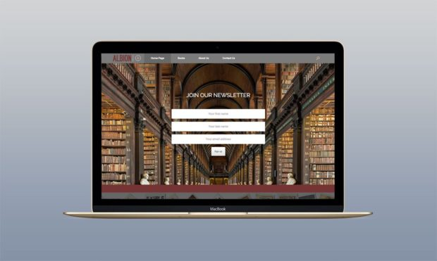 Book Publishers Website