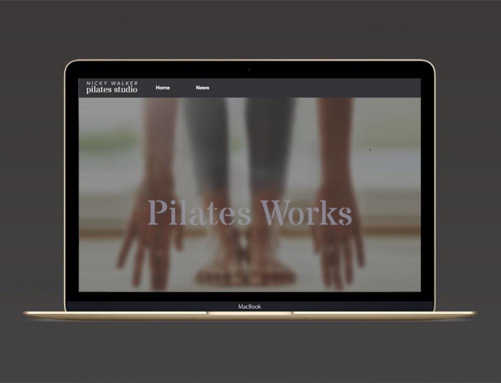 New Website For Pilates Studio