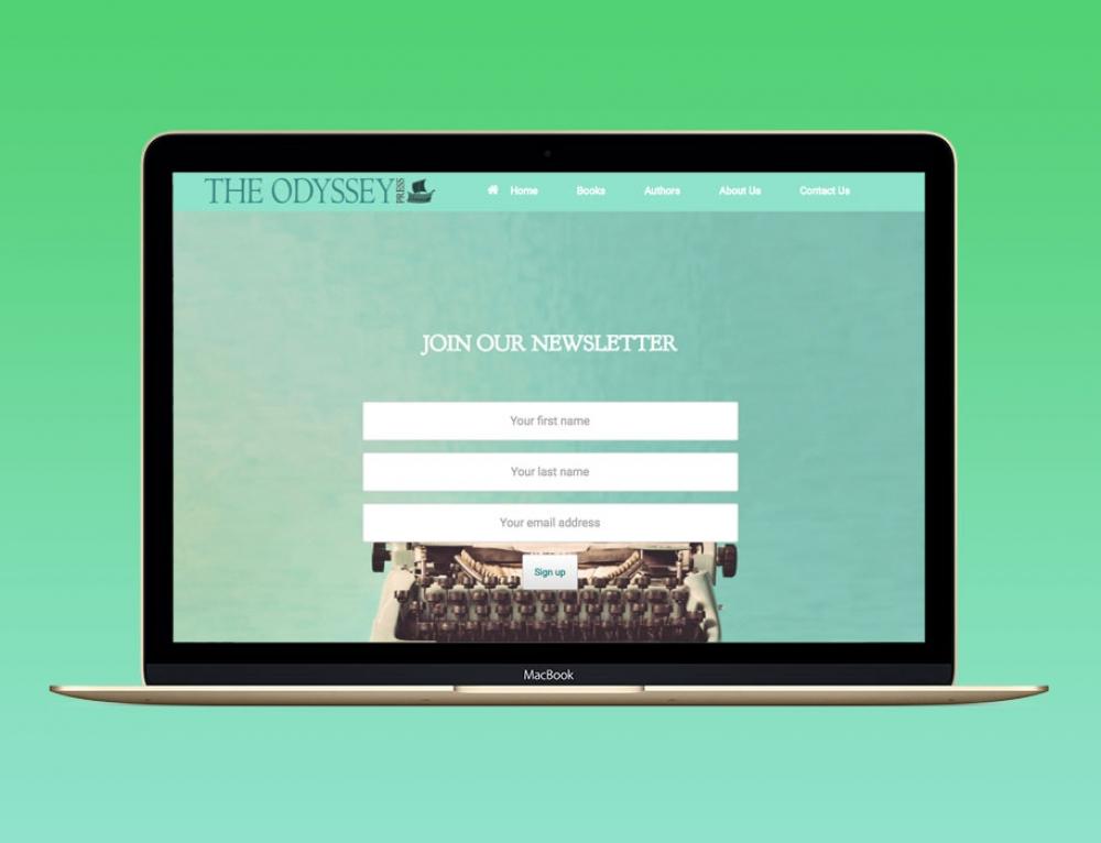 Branding & New Website For Book Publisher