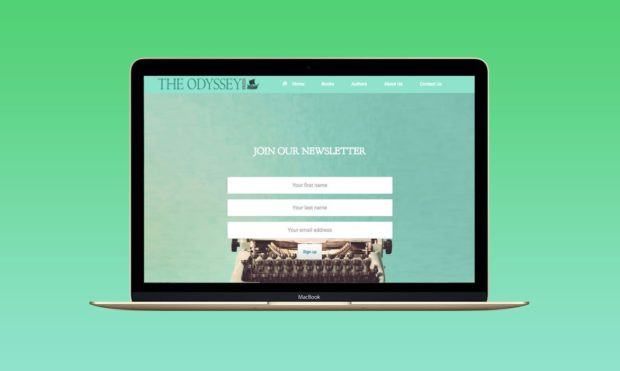 Book Publishing Website