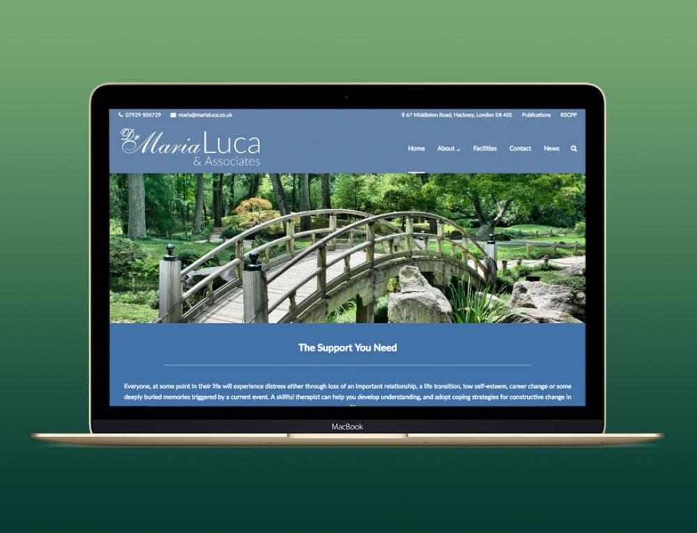 New Website For Psychotherapist