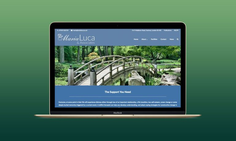 Psychotherapy Website