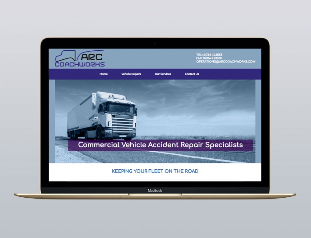 New Website For Coachworks Company