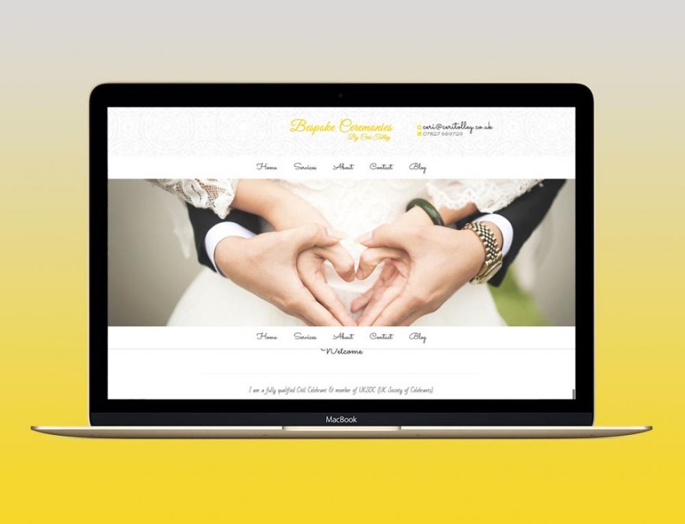 New Website For Celebrant