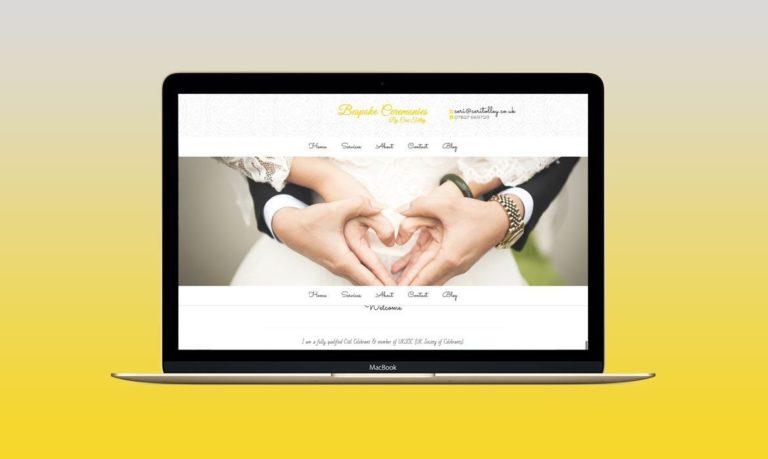 Celebrant Website