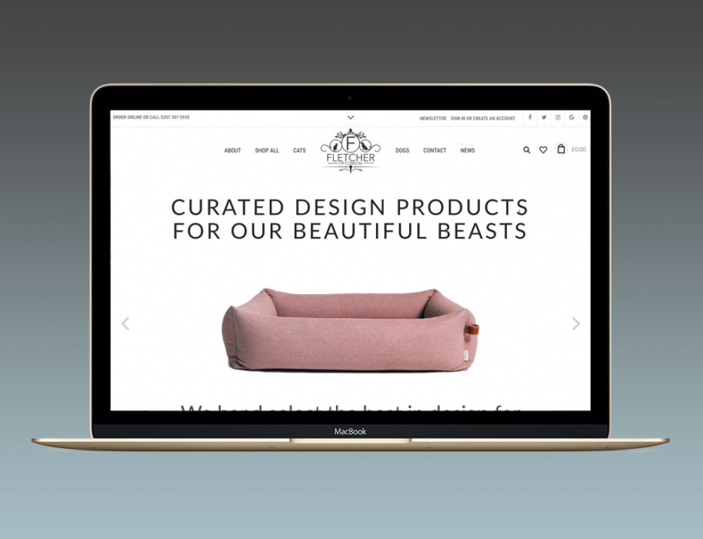Branding & New eCommerce Website