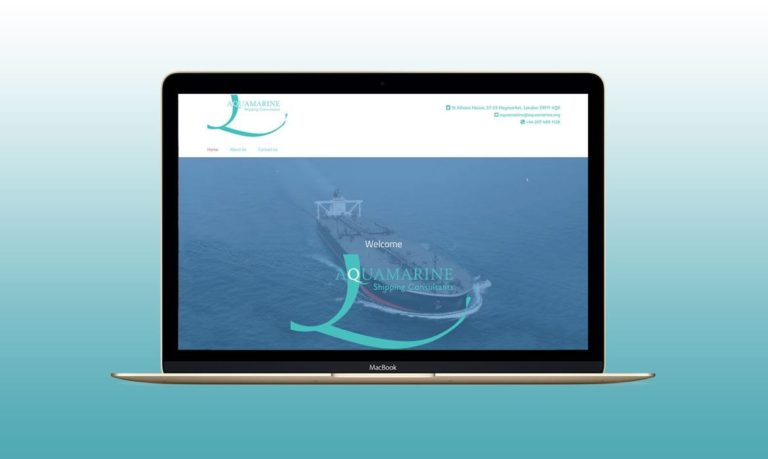 New Website For a London Shipping Consultant Business