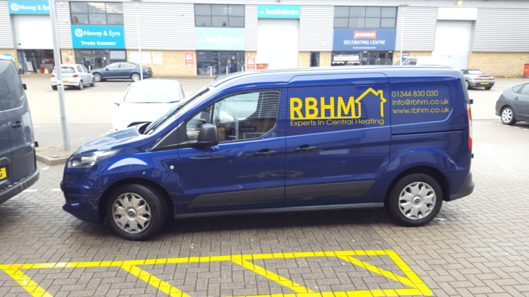 RBHM Blue Van